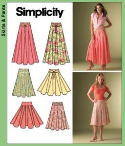 Peggy's Skirt-Simplicity